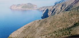Assos from the main Argostoli road