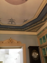 Front hall ceiling