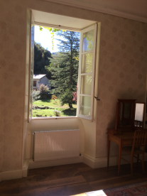 View from cream room