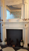 Front Hall Fireplace