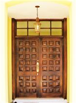 Handmade front door