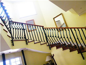 Dramatic staircase