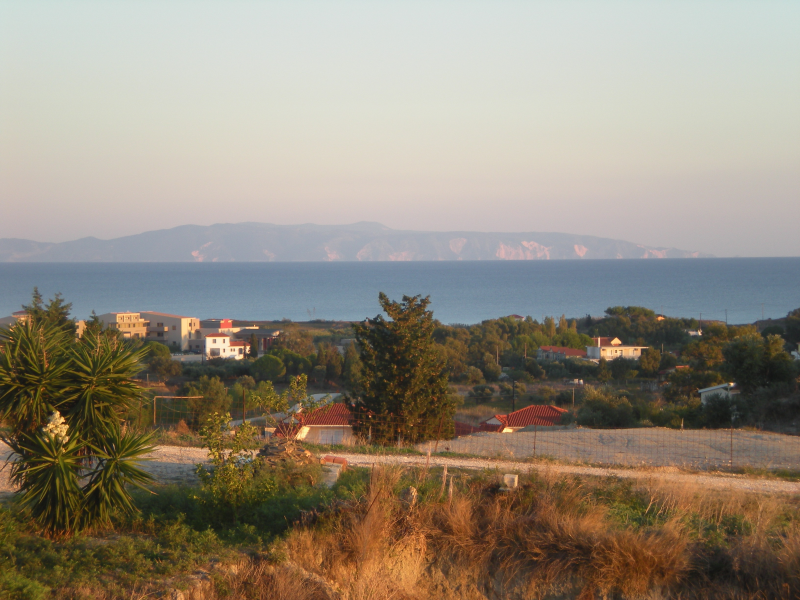 8. View of Zakinthos from south veranda