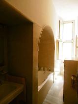 Bathroom (Marble Walls and Floor) with Bathtub