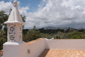 Roof top view to North from flat rooftop of Madresilva guest villa