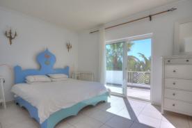 Large bedroom leading onto upper veranda of Marialva. Equal to all 5 bedrooms