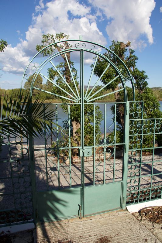 Gate to River