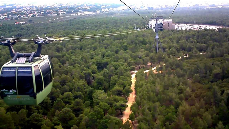 Free Cable car to Parnitha