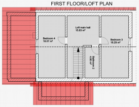 first floor/loft plan