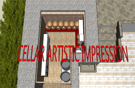 Cellar artistic impression