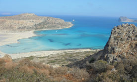 Balos lagoon 35 minute drive from Eco Camp.