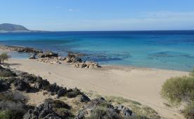 Falassarna beach 30 minute drive from Eco-camp.