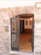 The sideway entrance