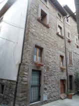 The beautiful stone facade
