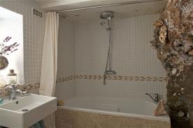 Grotto bathroom