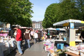 Honfleur - Market Day