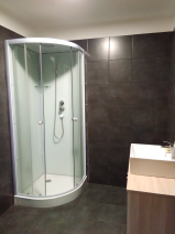 Swiss style Chalet shower room