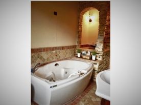 Master Bath with Hydro Jet Tub