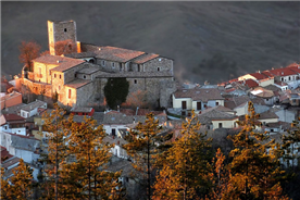 The beautiful medieval village of Bisaccia