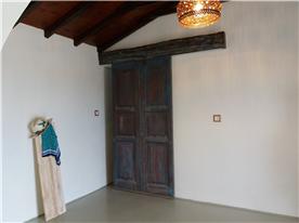 door that separates second floor