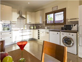 Fully fitted modern Kitchen Balmoral Villa.