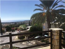 Balcony sea and mountain views Balmoral Villa.
