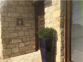 Front door patio to 1 bedroomed Cottage.