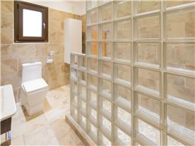 Ground floor Contemporary shower room Balmoral Villa.