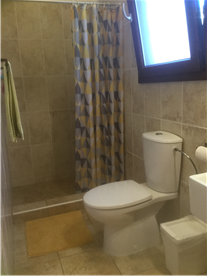 Modern Contemporary shower room, 1 bed Cottage.