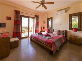 Master bedroom leading to balcony Balmoral Villa.