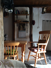 Kitchen dining area.