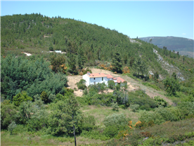 An overview of the house in location.