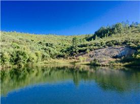 The reservoir / wild swimming pool.