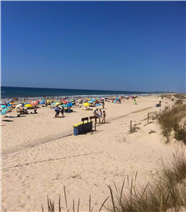 Cabanas beach.