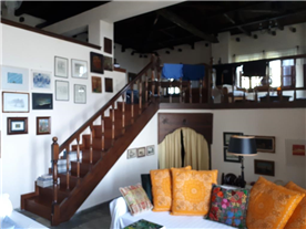 View of mezzanine from lounge