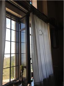 Main lounge window