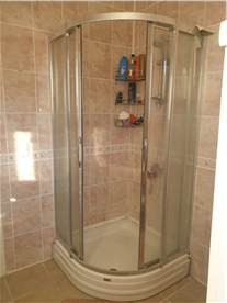 First Floor bathroom shower tab, all tiles brand new