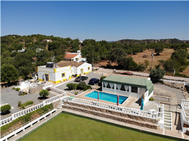 Aerial Photo of House, Clubhouse and Pool