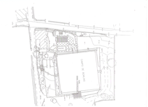Site Layout excluding field to South