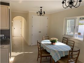Dining Area and passage to Lounge