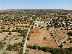 Aerial Photo from South showing field