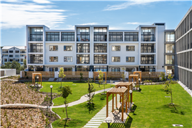 Exterior view of the Apartments