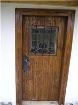 Door into summer kitchen