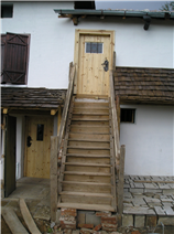 Hayloft Steps to top two bedrooms