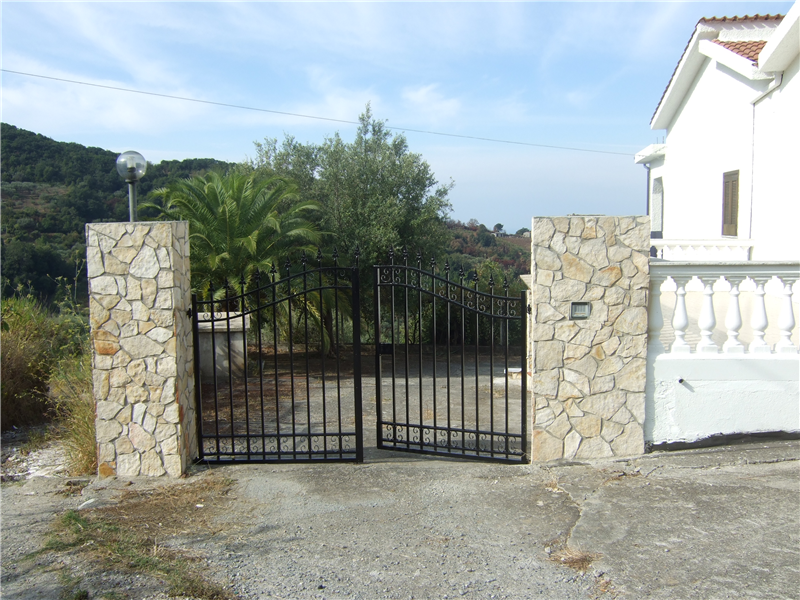 Gates into Villa