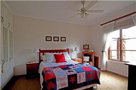 Bedroom 1 ground floor with ensuite