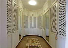 Master suite walk in closet