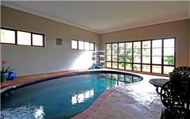 Heated indoor salt pool