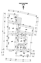 First floor as existing