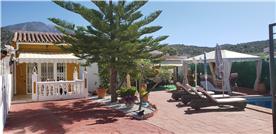Casa Patrice Villa, front gate view.